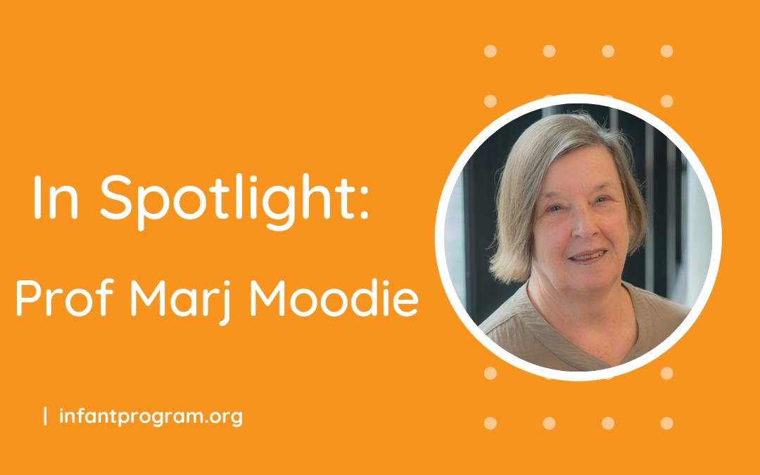 In Spotlight: Prof Marj Moodie