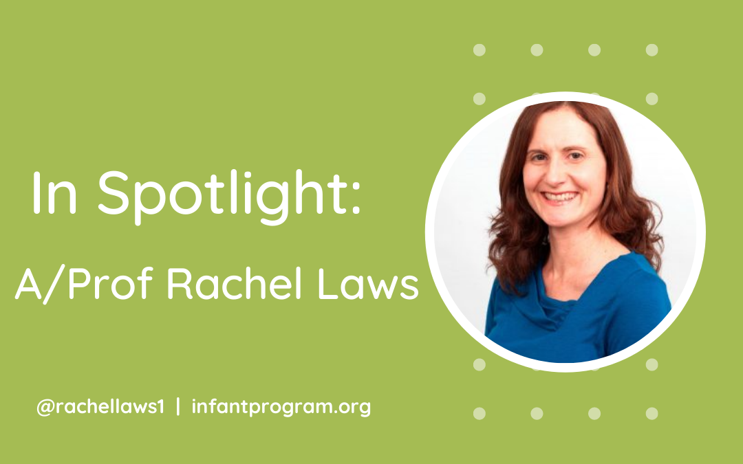 In spotlight: A/Prof Rachel Laws