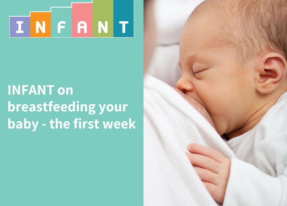 Breastfeeding your baby – the first week