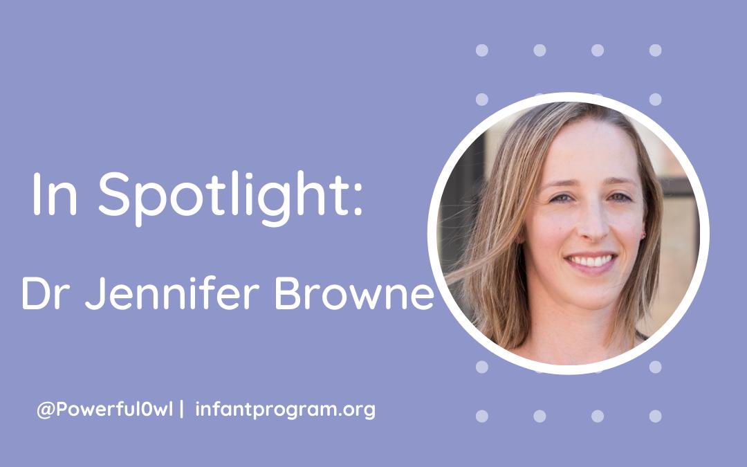 In Spotlight: Dr Jennifer Browne