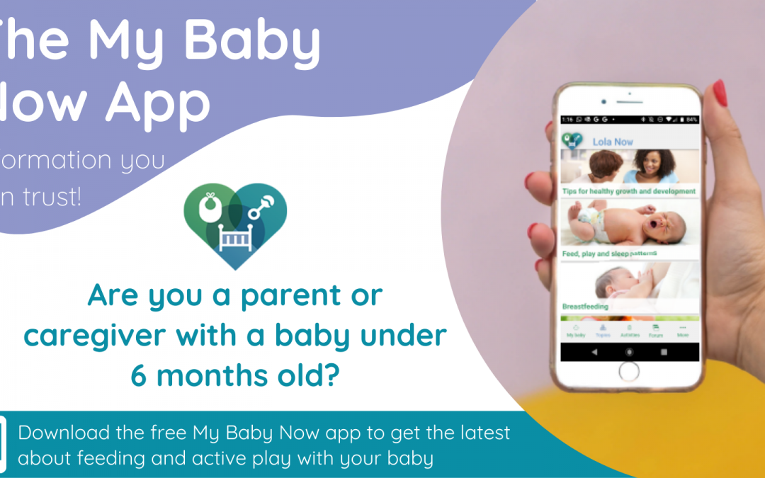 Download the new My Baby Now app today!
